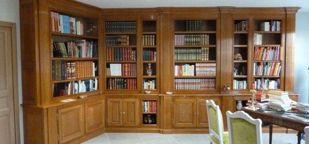 CB Ebenisterie  réalise sur mesures vos meubles et bibliothèques