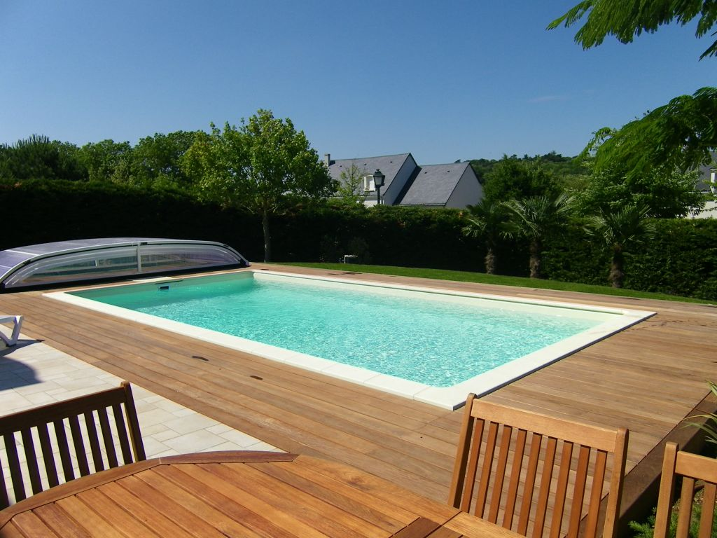 Bardage bois ext rieur am nagement ext rieur bois - Amenagement piscine design saint etienne ...