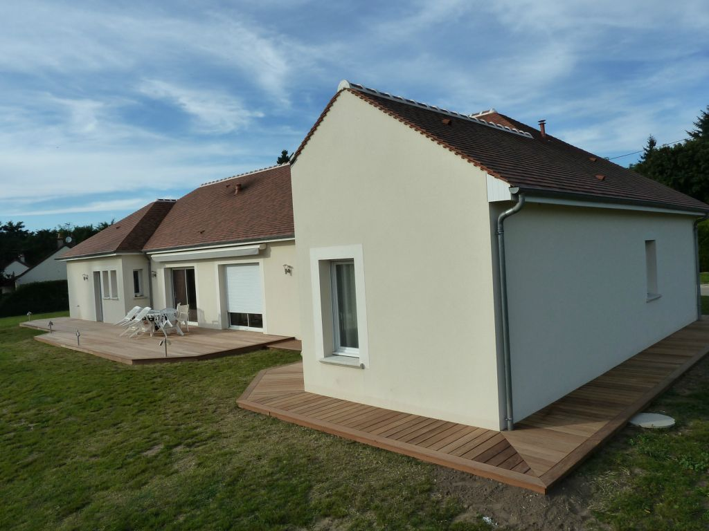 Bardage bois ext rieur am nagement ext rieur bois for Amenagement exterieur maison terrasse